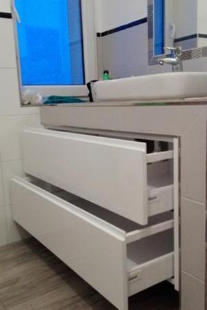 Szuflady łazienkowe